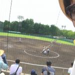高校野球を見ると初心を思い出します。だから見に行っちゃうんですよね〜