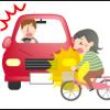 自転車、バイクでの交通事故時に多いケガ